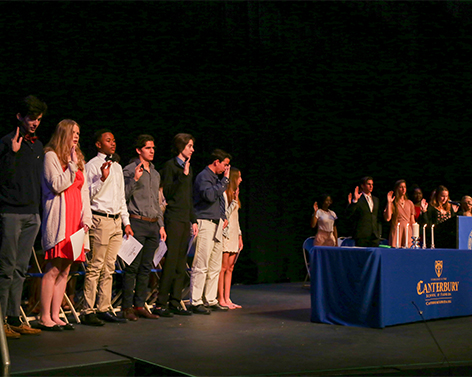 2020 NATIONAL HONORS SOCIETY INDUCTION CEREMONY