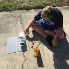 MIDDLE SCHOOL STUDENTS USE SCIENCE TO TACKLE REAL WORLD ENERGY ISSUES