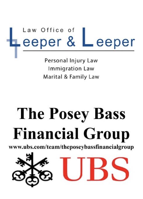 Gala Sponsors Law Office of Leeper and Leeper and The Posey Bass Financial Group