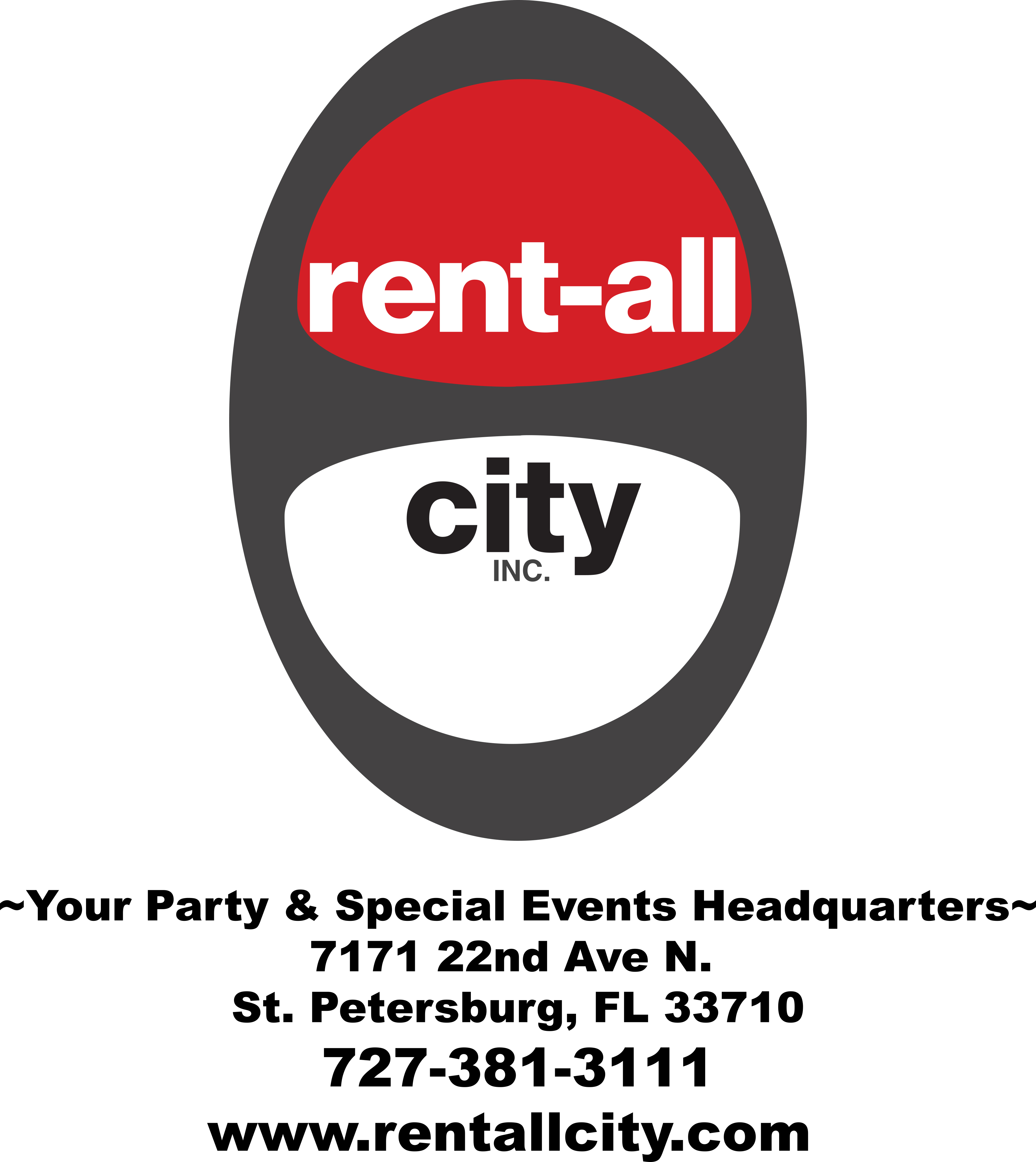 Gala sponsor Rent-All City