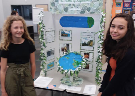Eighth Graders Move on to Final Round in National History Day Competition