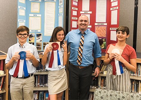 Congratulations, Science Fair Winners!