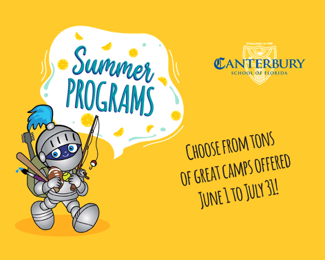 Register Now for Summer Camp!
