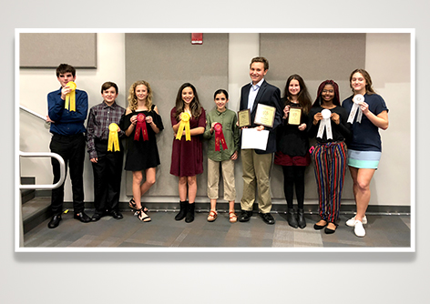 Canterbury Students Place 1st, 2nd, 3rd, and 4th in the Pinellas County Science Fair