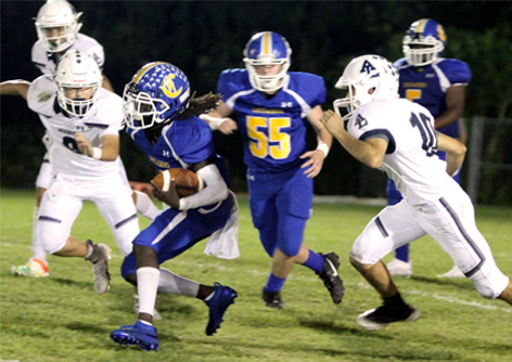 Canterbury's Varsity Football Team to Play in State Semifinals at Home this Saturday