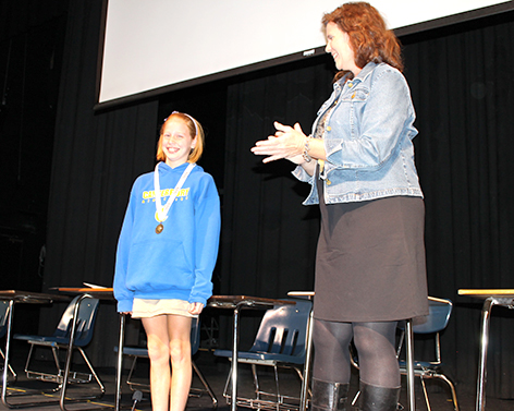 Middle School Geography Bee Winner Advances to Qualify for State Competition